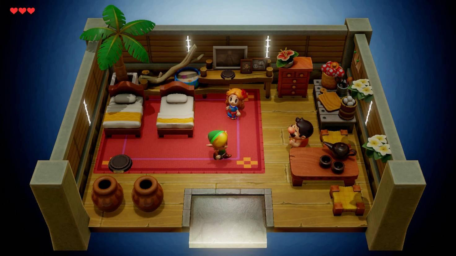 Im Haus von Marin beginnt das Abenteuer.