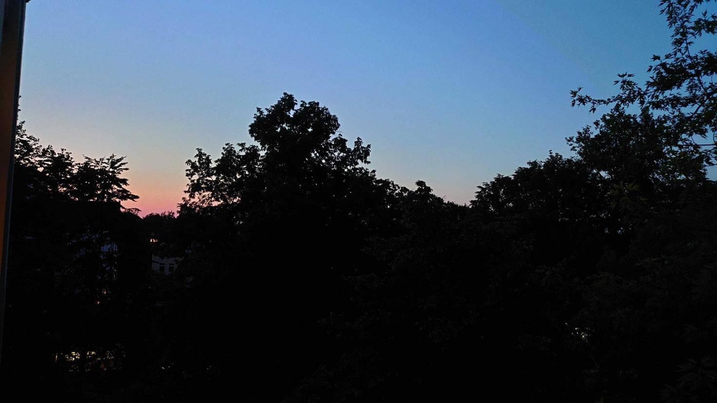 Sonnenuntergang aufgenommen mit Sony Xperia 1