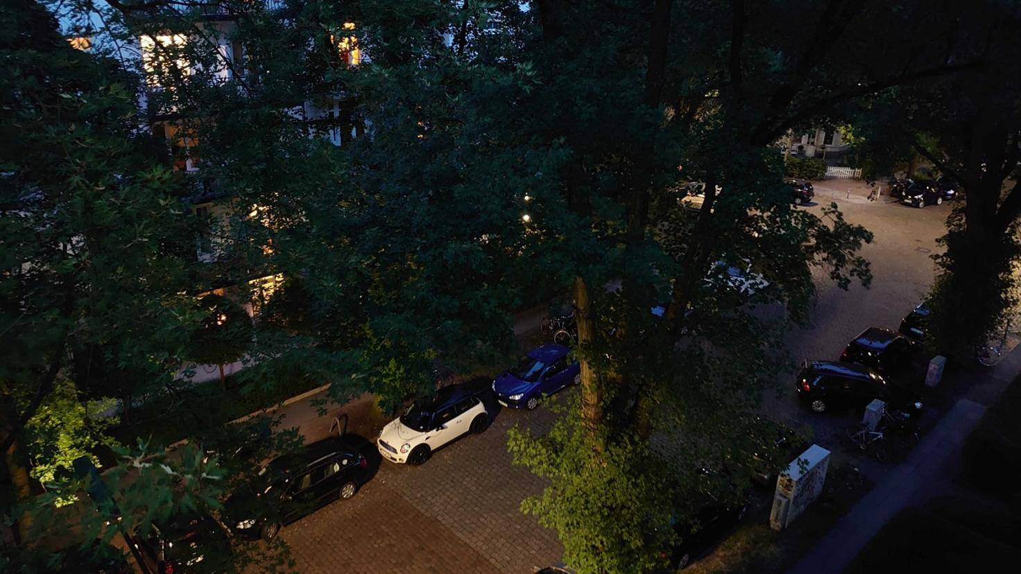 Nachtszene mit dem Sony Xperia 1