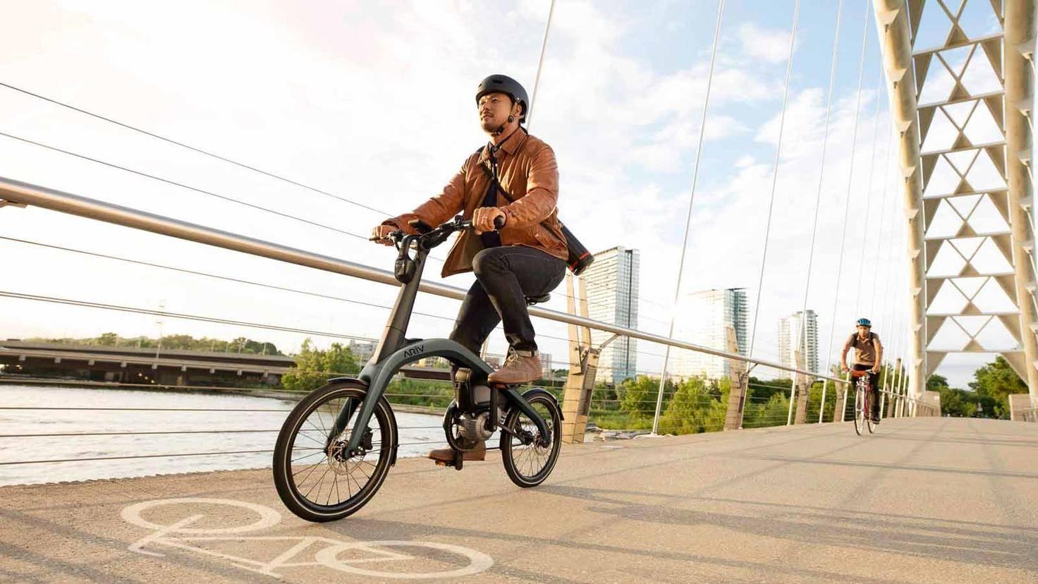 Ariv-Fahrrad-E-Bike-General Motors