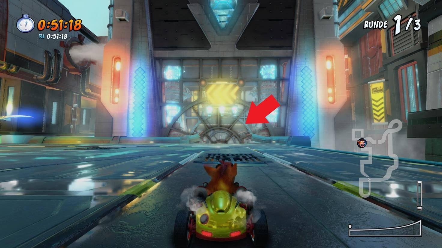 Crash-Team-Racing-Nitro-Fueled-Abkürzung-Androiden-Allee