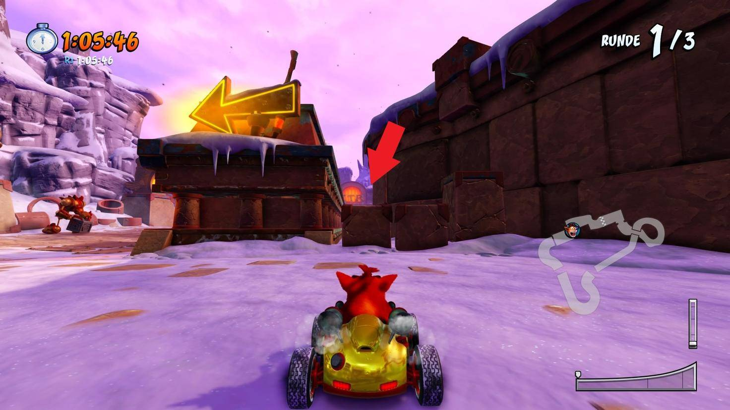 Crash-Team-Racing-Nitro-Fueled-Abkürzung-Barin-Ruinen
