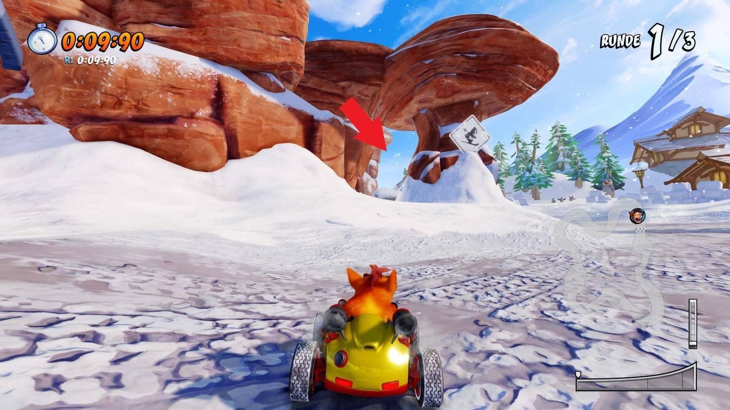 Crash-Team-Racing-Nitro-Fueled-Abkürzung-Blizzard-Bluff-1