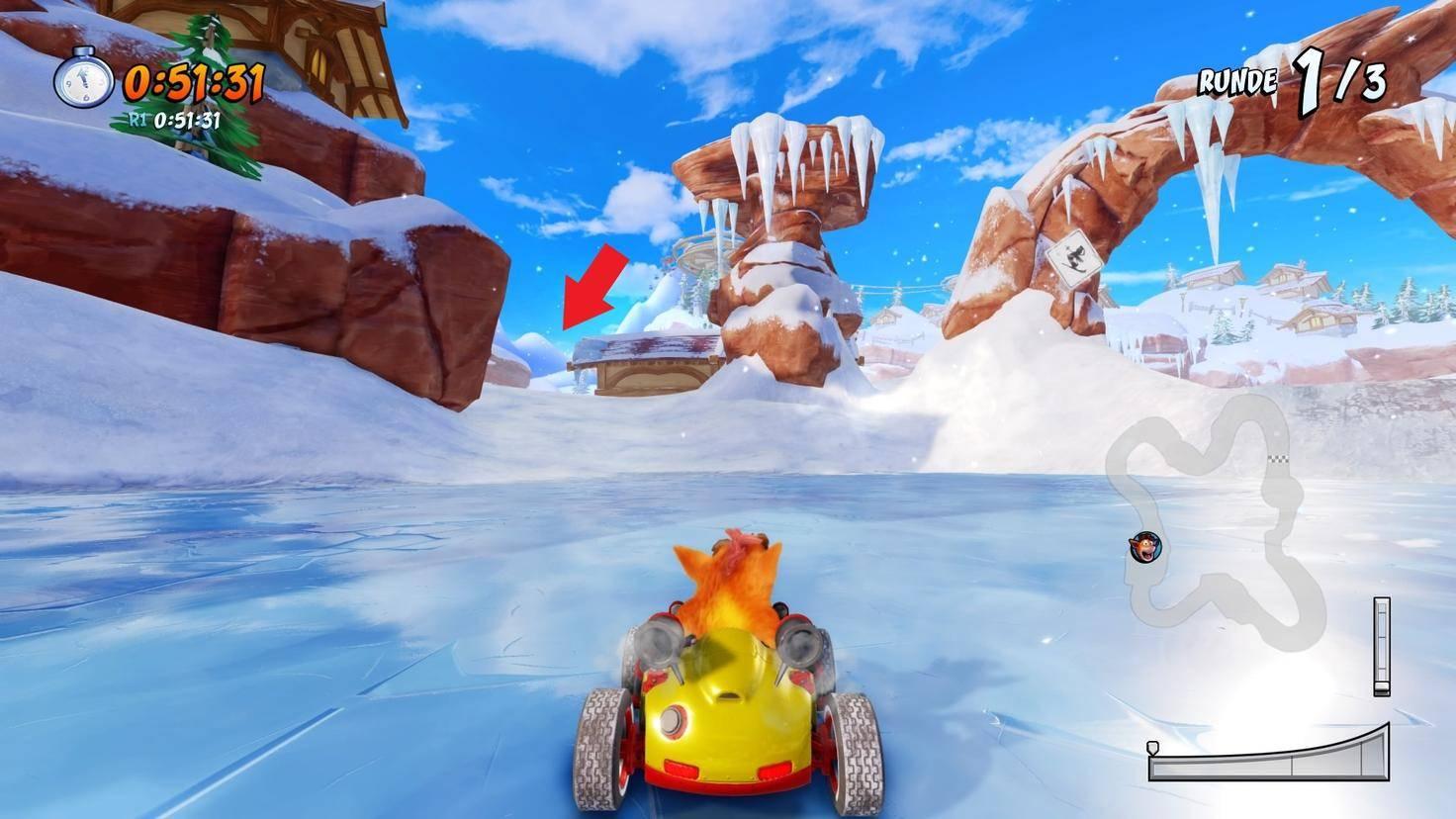 Crash-Team-Racing-Nitro-Fueled-Abkürzung-Blizzard-Bluff-2