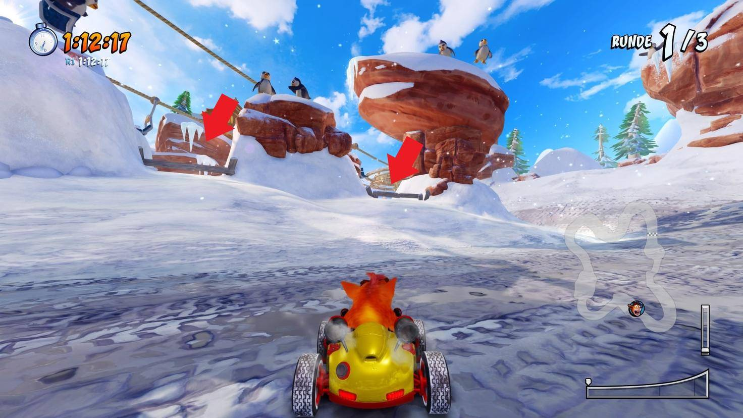 Crash-Team-Racing-Nitro-Fueled-Abkürzung-Blizzard-Bluff-3