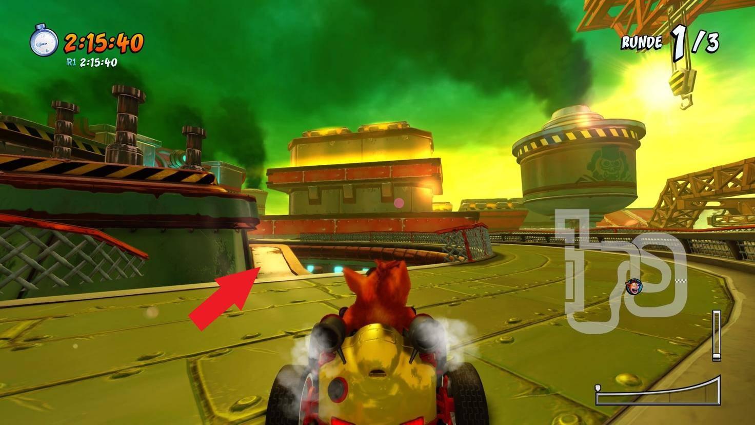 Crash-Team-Racing-Nitro-Fueled-Abkürzung-Fließbandstrecke-2