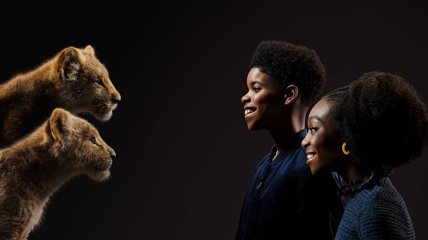 Sweet: The young Simba is spoken by JD McCrary, Shahadi Wright Joseph speaks the young Nala.