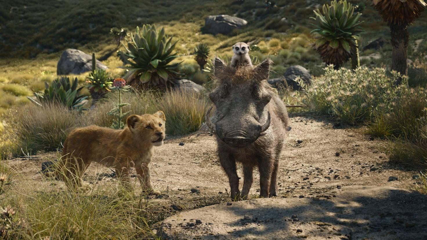 Die heimlichen Stars: Timon und Pumbaa.