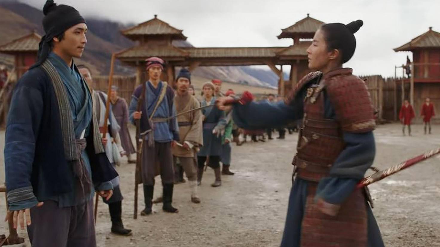 Mulan nimmt die neuen Kadetten unter die Lupe.