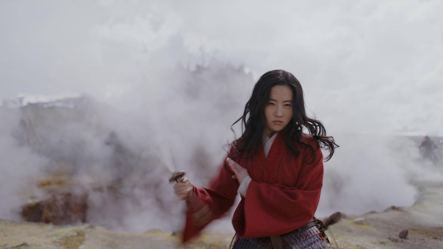 Mit dem Schwert macht Mulan so schnell keiner was vor.