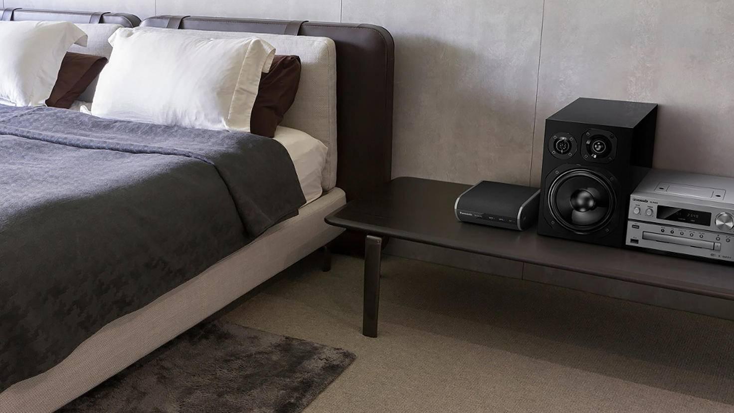 Über WLAN lassen sich zum Beispiel Audio-Geräte vernetzen.