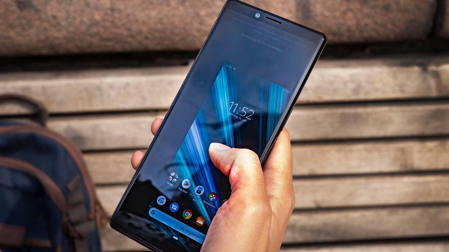 Sony Xperia 1 Einhändiger-Modus