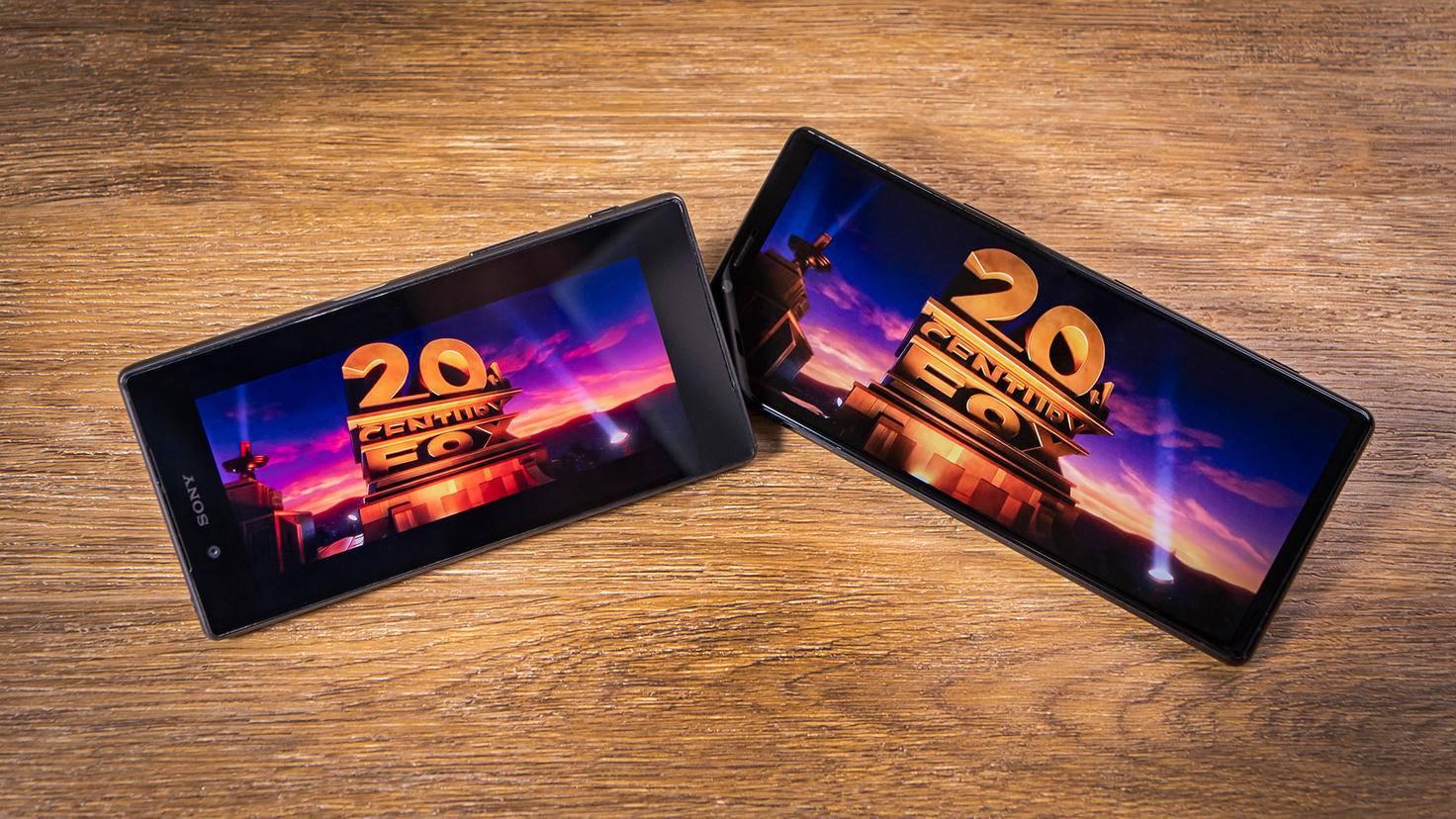 Sony Xperia 1 Filmerlebnis ohne schwarze Balken