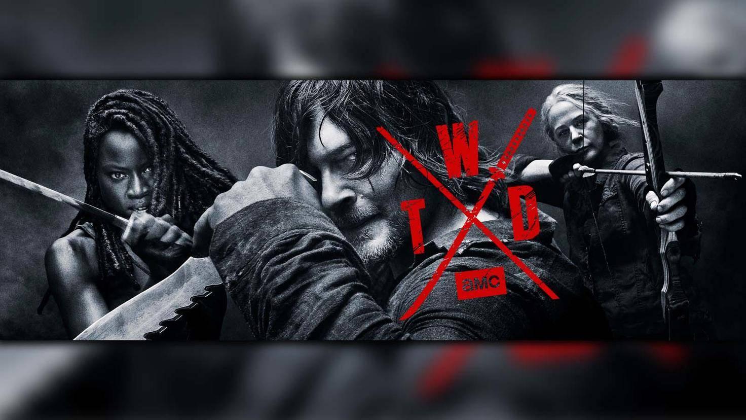 The Walking Dead-Staffel 10-S10-Poster-AMC