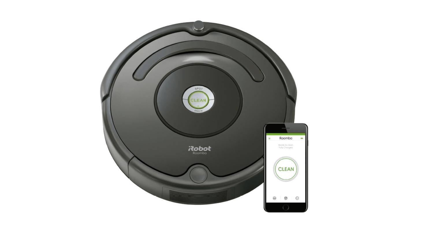 Der Roomba 676 von iRobot saugt via Alexa auf Zuruf.