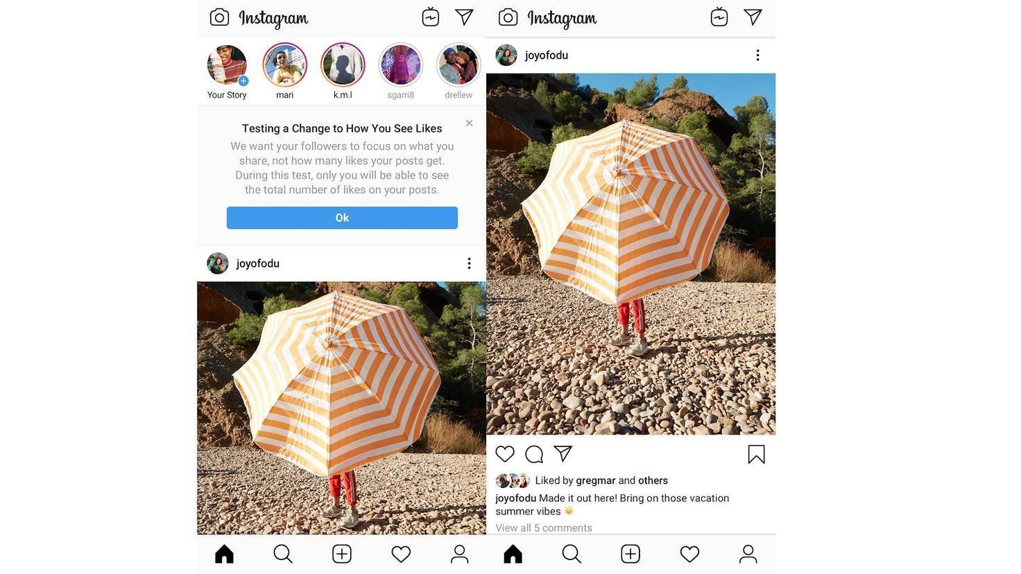 Instagram verbirgt in einigen Ländern die Like-Summe
