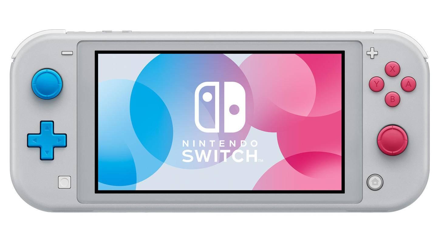 """Die Pokémon-Sonderedition der Switch Lite erscheint passend zu """"Pokémon Schwert & Schild""""."""