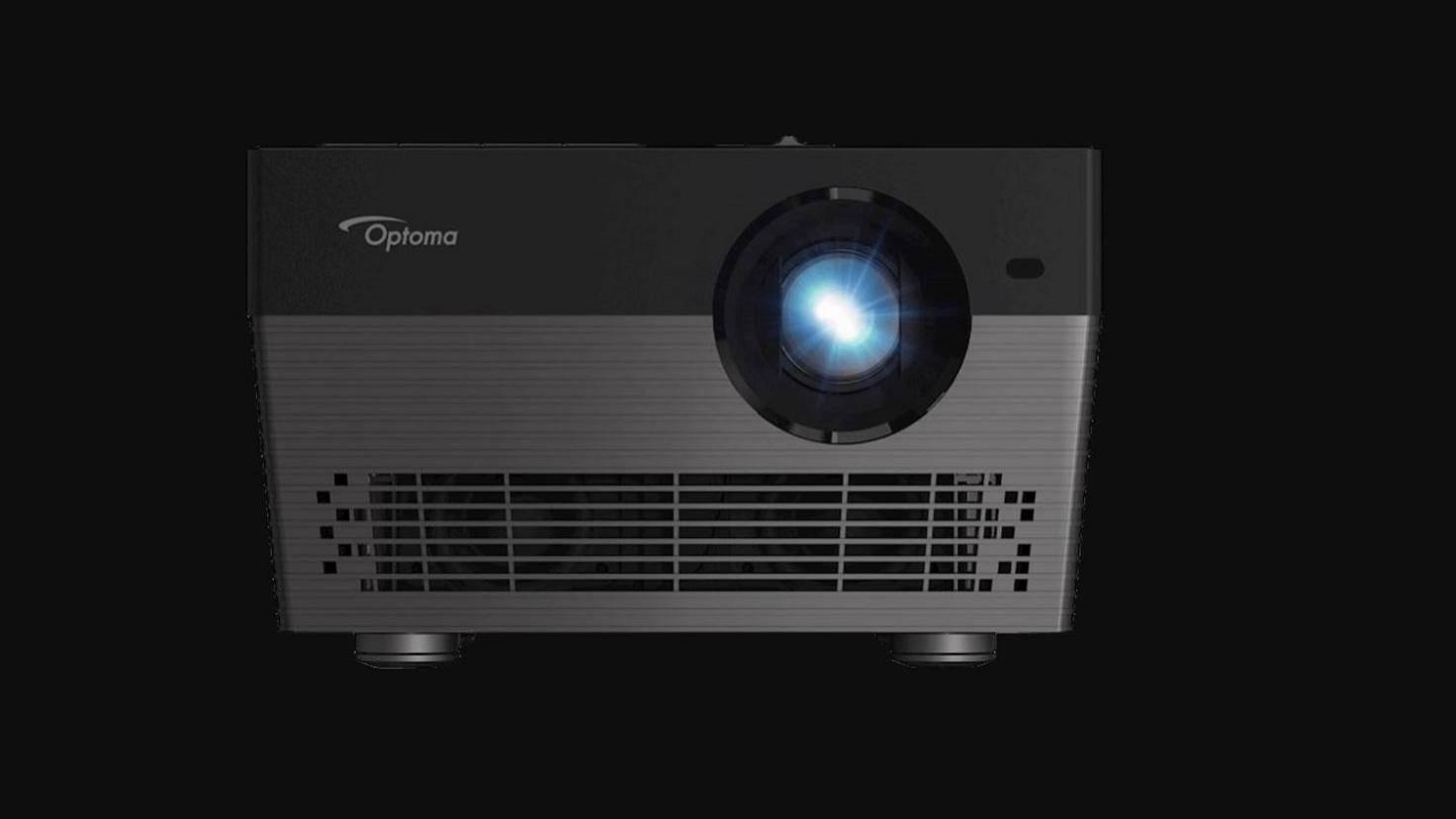 Der Optoma-Projektor mit Alexa-Unterstützung verwandelt das Wohnzimmer in ein sprachgesteuertes Heimkino.