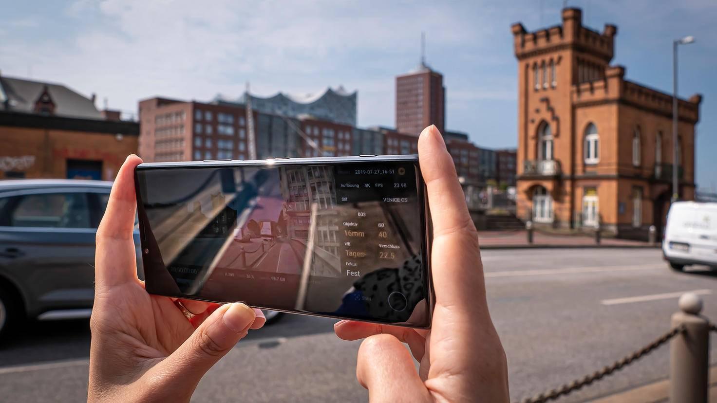 Cinema-Pro-App auf dem Xperia 1