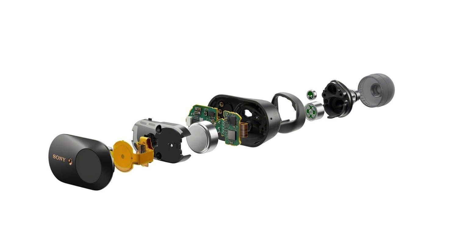 In den In-Ear-Kopfhörern ist die gleiche Technik wie in den Bügelkopfhörern der Modellserie verbaut.