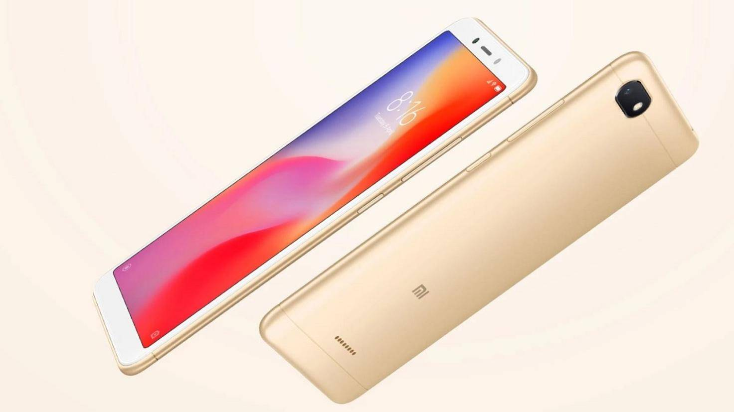 Xiaomi Redmi 6A Low-Budget-Smartphone