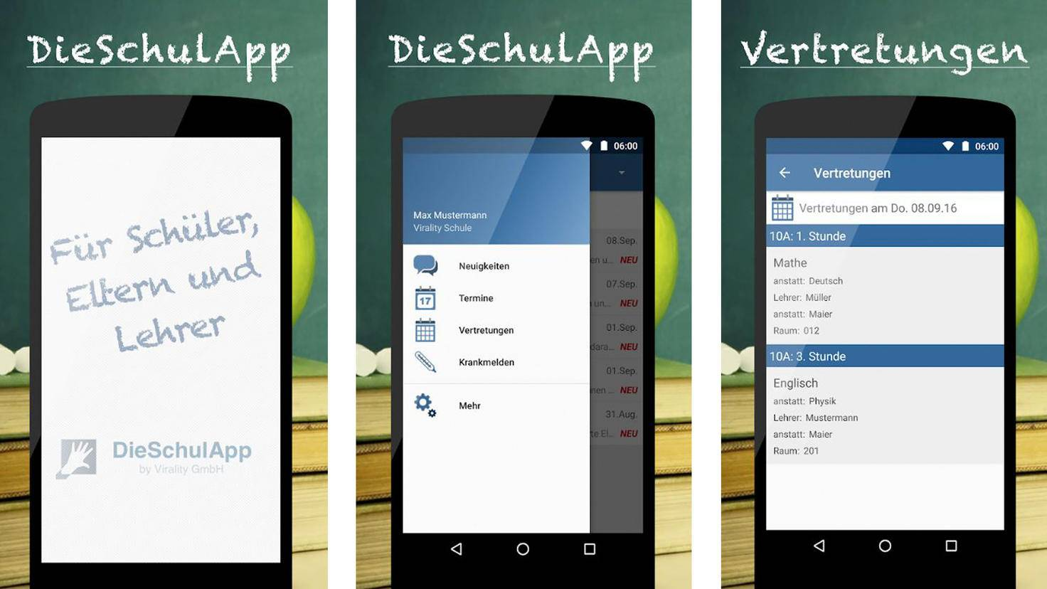DieSchulApp-Google PlayStore-Virality GmbH