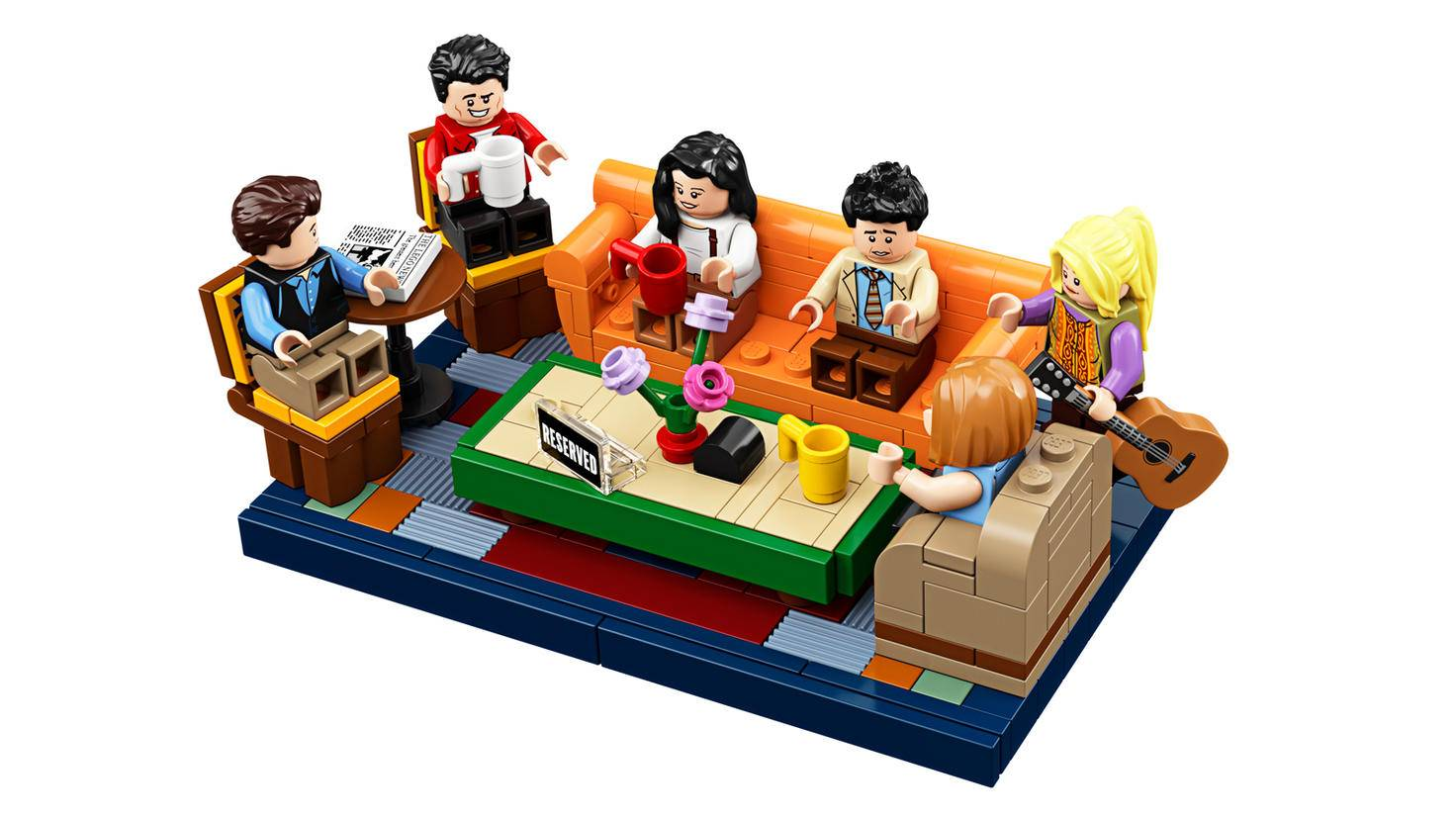 Minifiguren Lego Friends Central Perk Set