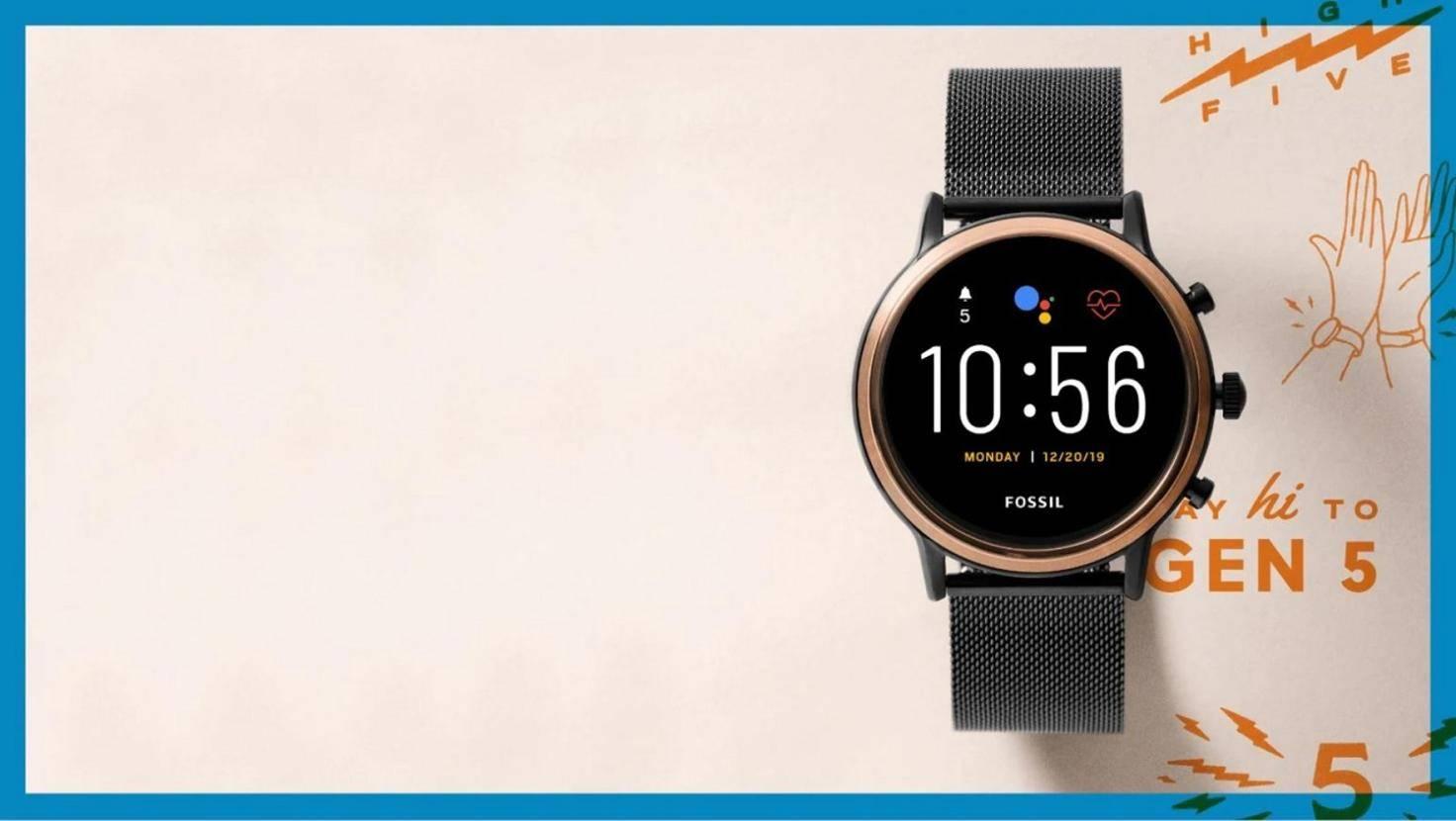 Fossil Gen 5 Smartwatch mit Wear OS