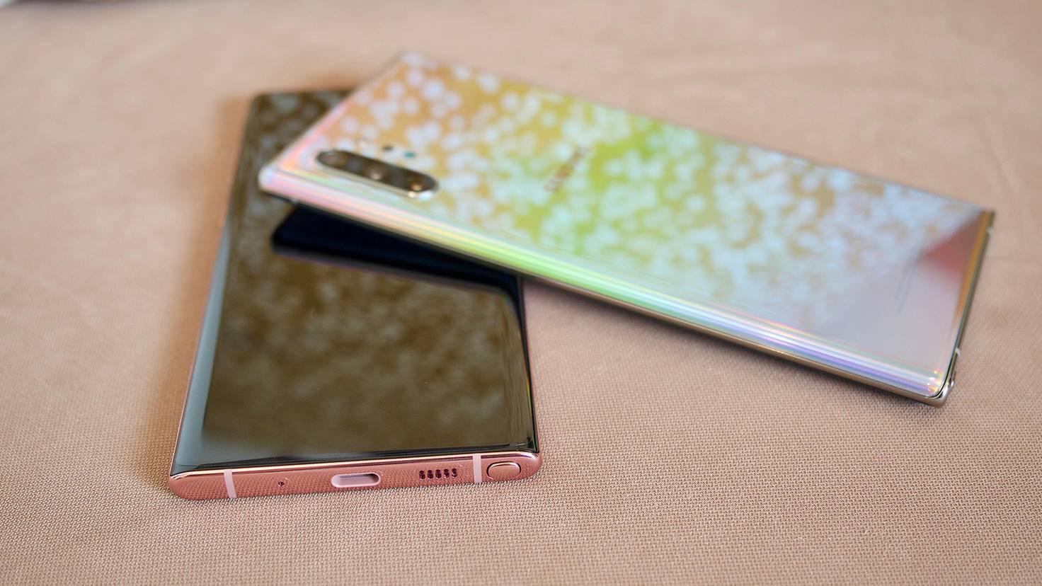 Galaxy Note 10 Plus Anschluss