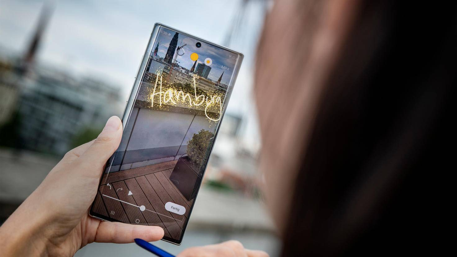 Galaxy Note 10 Plus Live-Message