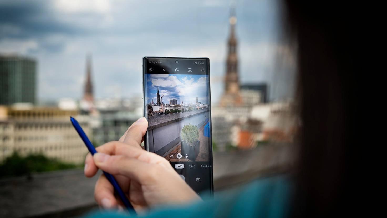 Galaxy Note 10 Plus Kamera und Stift