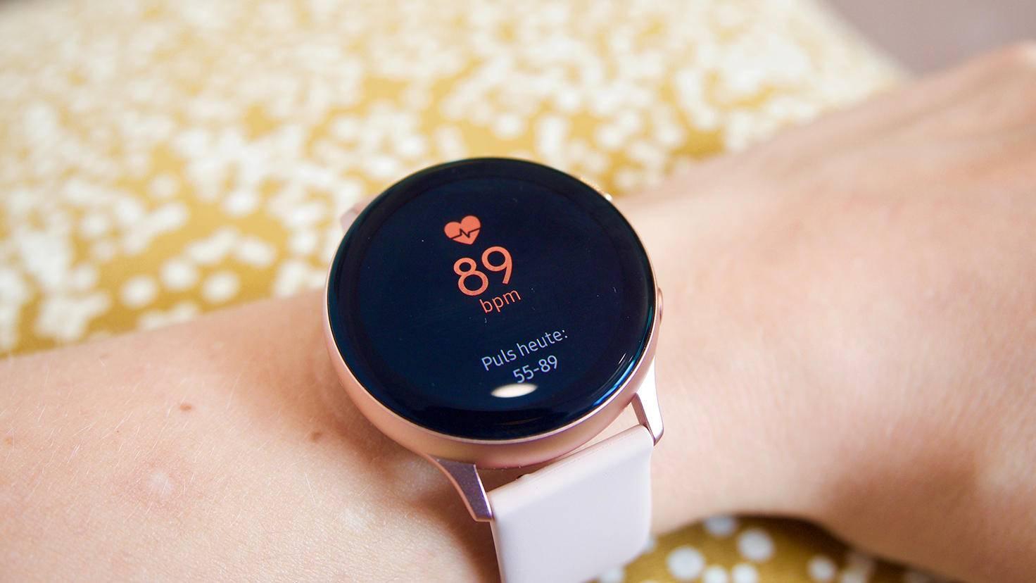Galaxy Watch Active 2 Pulsmesser