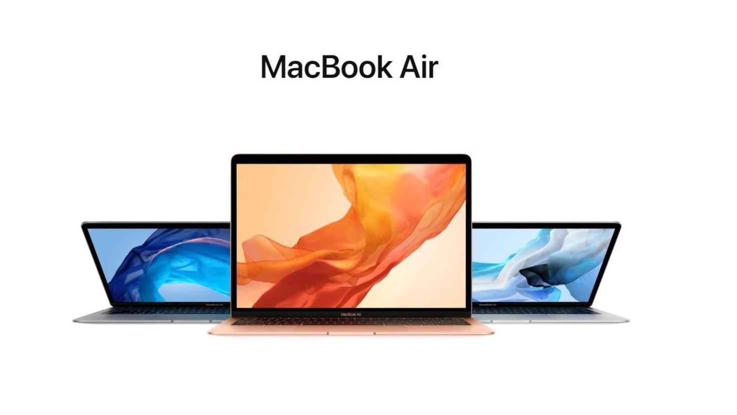 Das MacBook Air von 2019