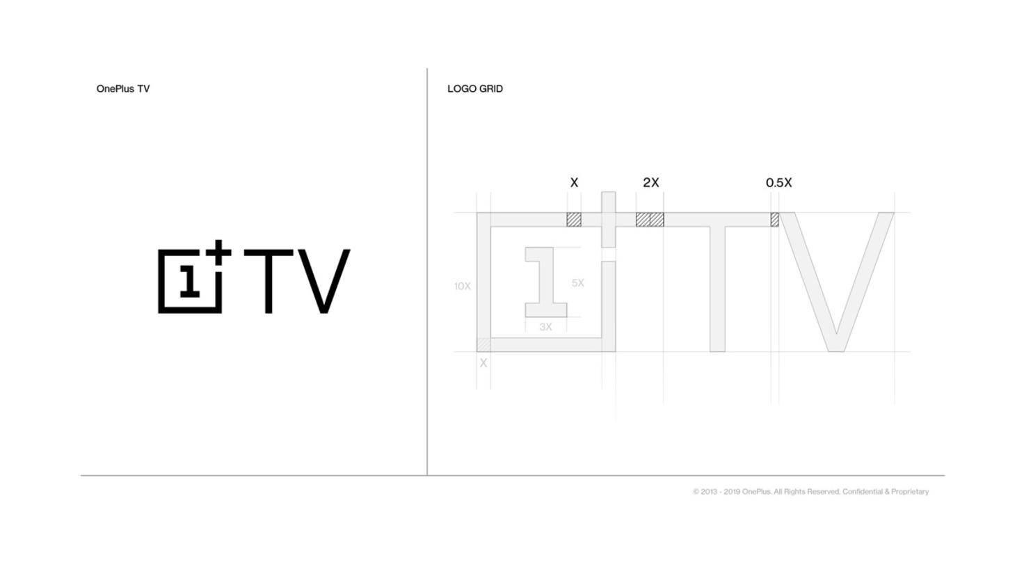 Logo für die Fernseher von OnePlus