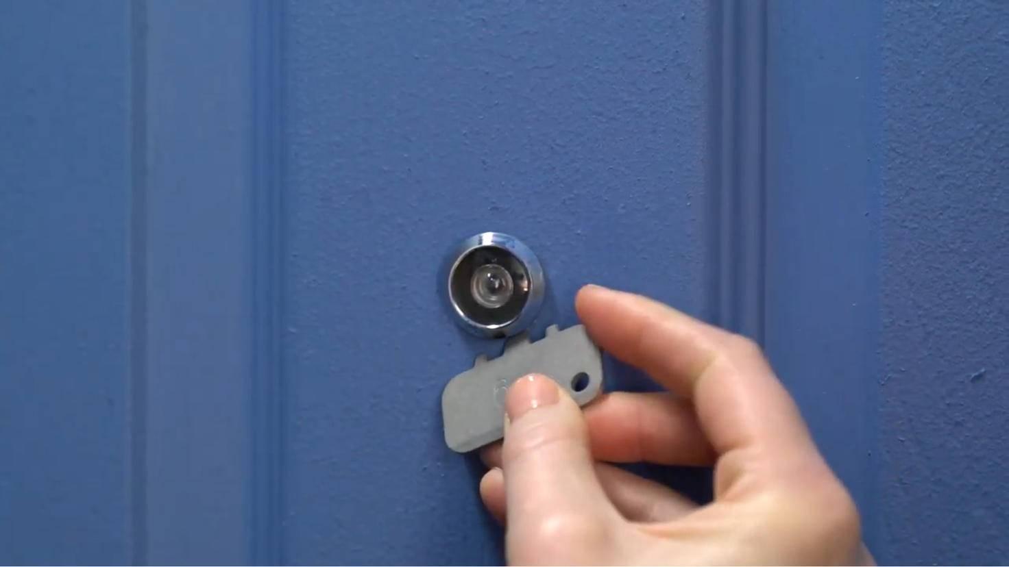 ring door view cam ausbau