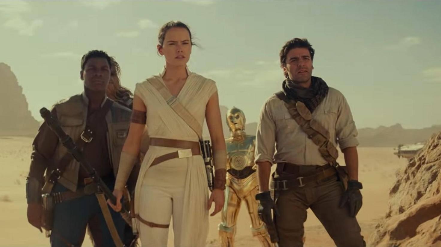 """Die Crew aus """"Star Wars 9"""""""