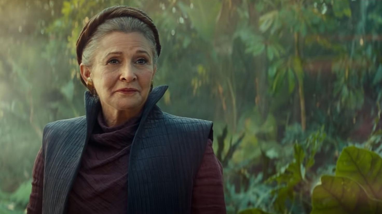 """Carrie Fischer in """"Star Wars 9"""""""