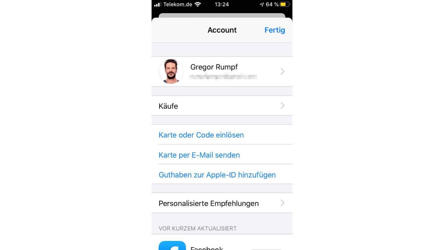 App-Updates iOS 13