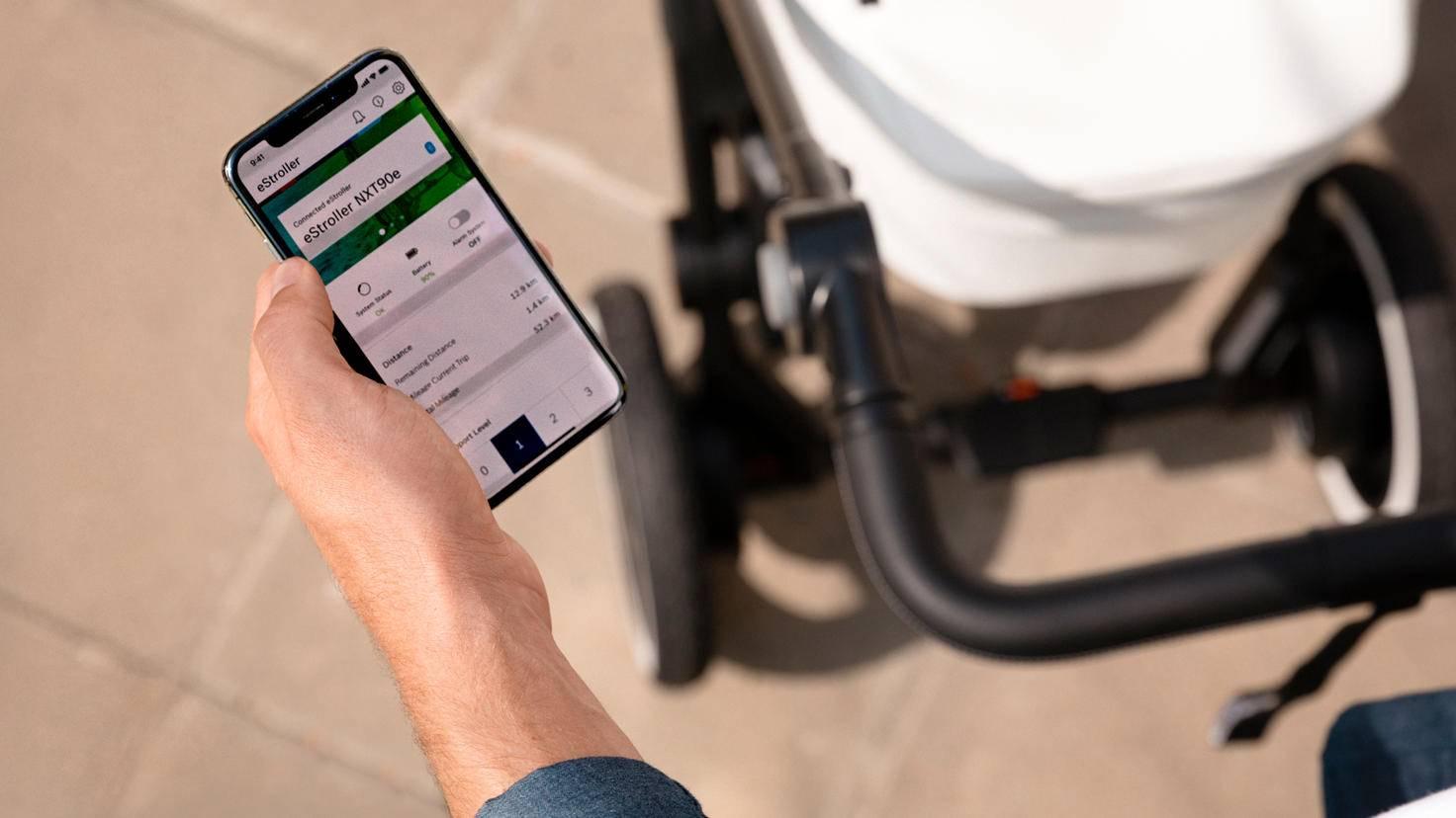 E-Stroller-App-Kinderwagen-Bosch