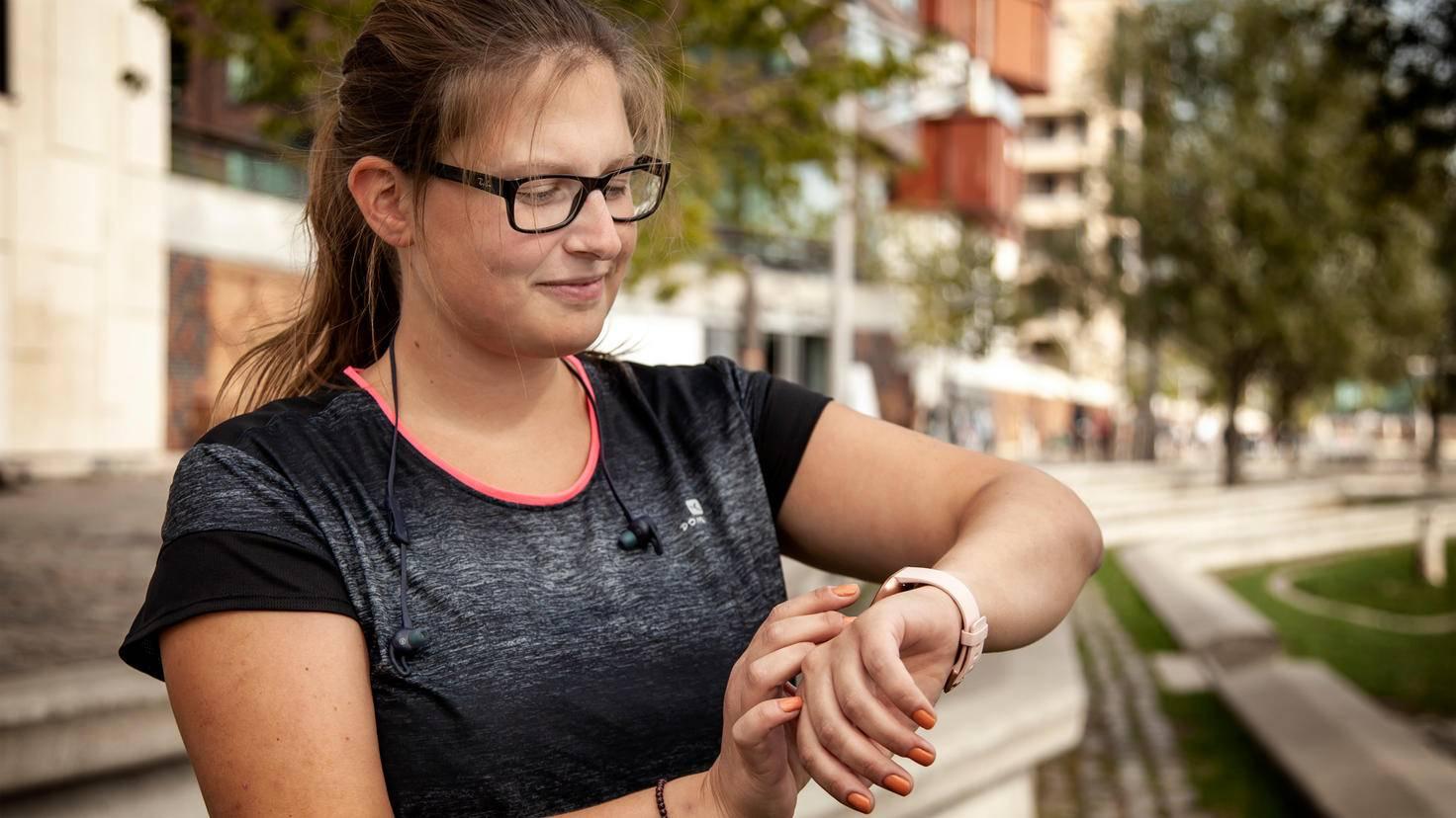Keine Smartwatch für Sport-Profis, aber für die, die es vielleicht mal werden wollen.