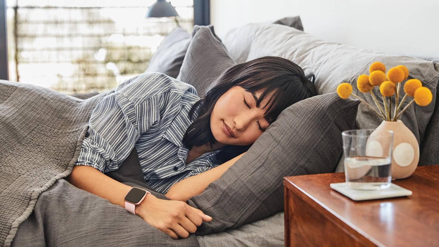 Fitbit Versa 2-Schlaf-Tracking-Fitbit