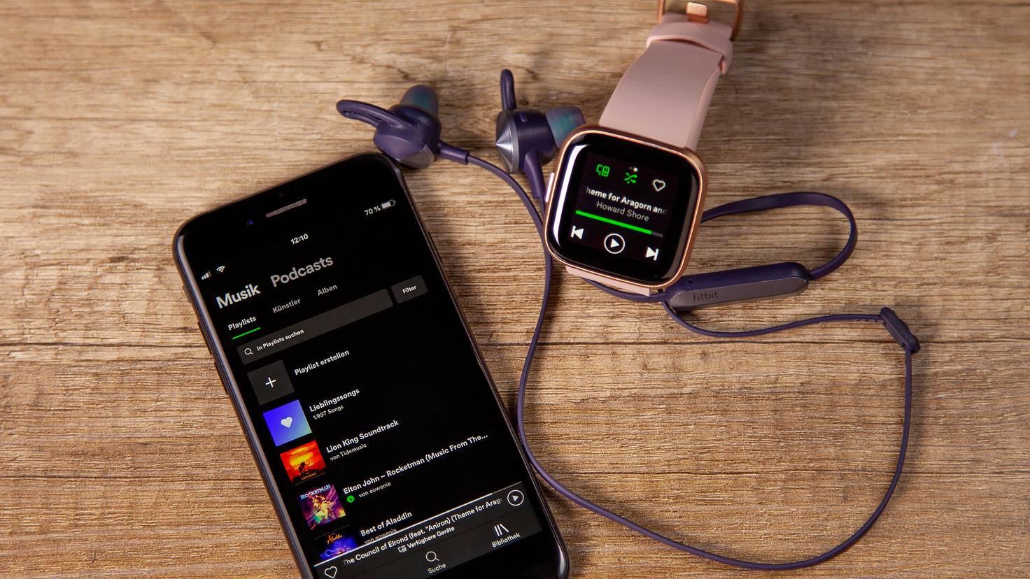 Fibit Versa 2 Spotify Smartphone