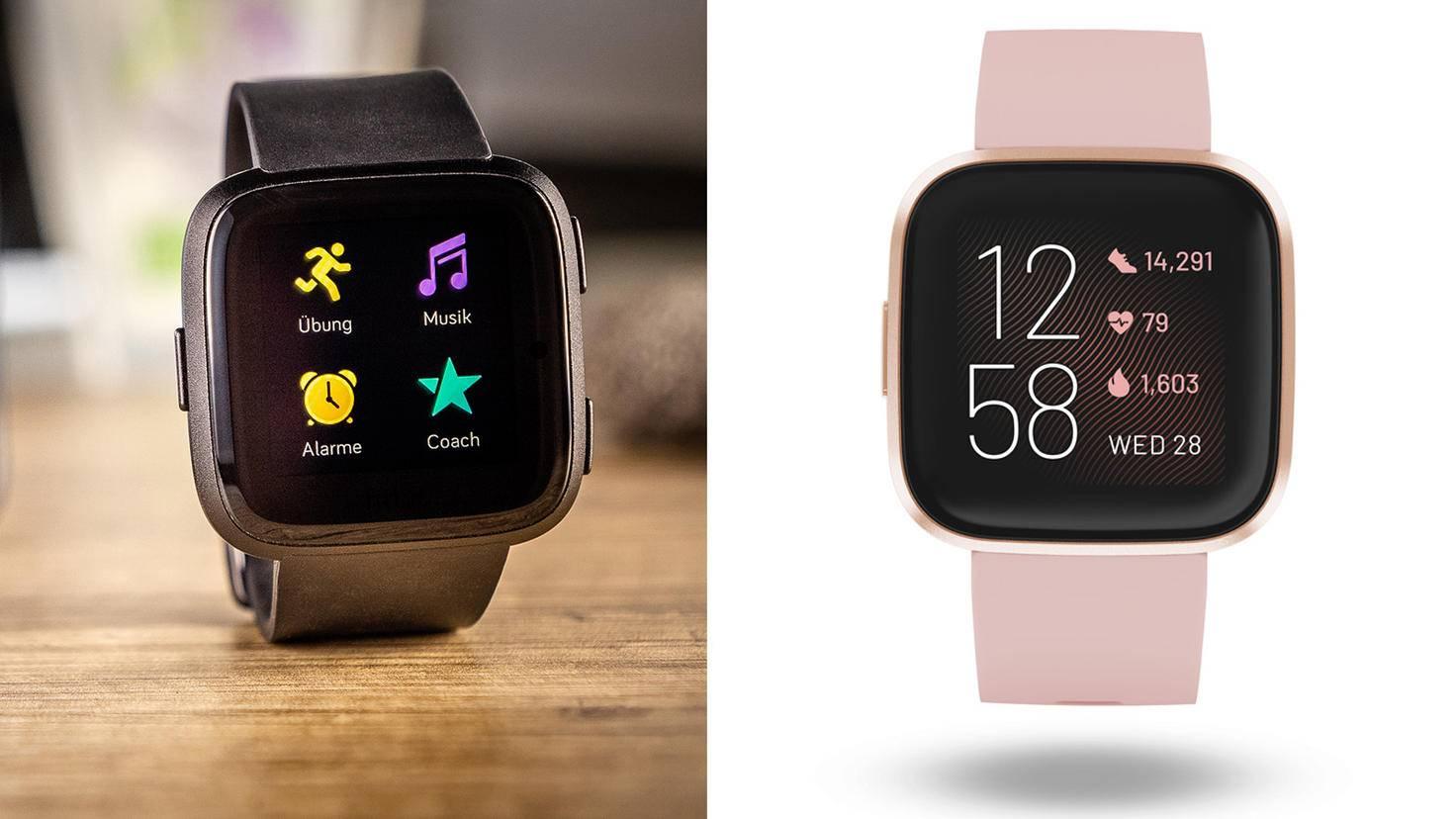 Fitbit Versa-TURN ON-Fitbit Versa 2-Fitbit