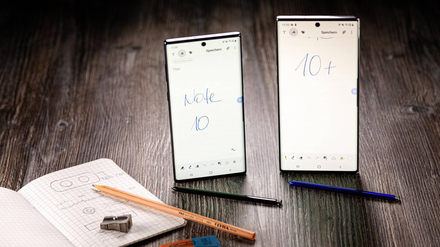Galaxy Note 10 10 Plus Displayvergleich