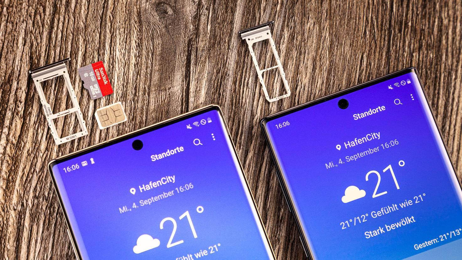 Galaxy Note 10 10 Plus Speicherkapazität
