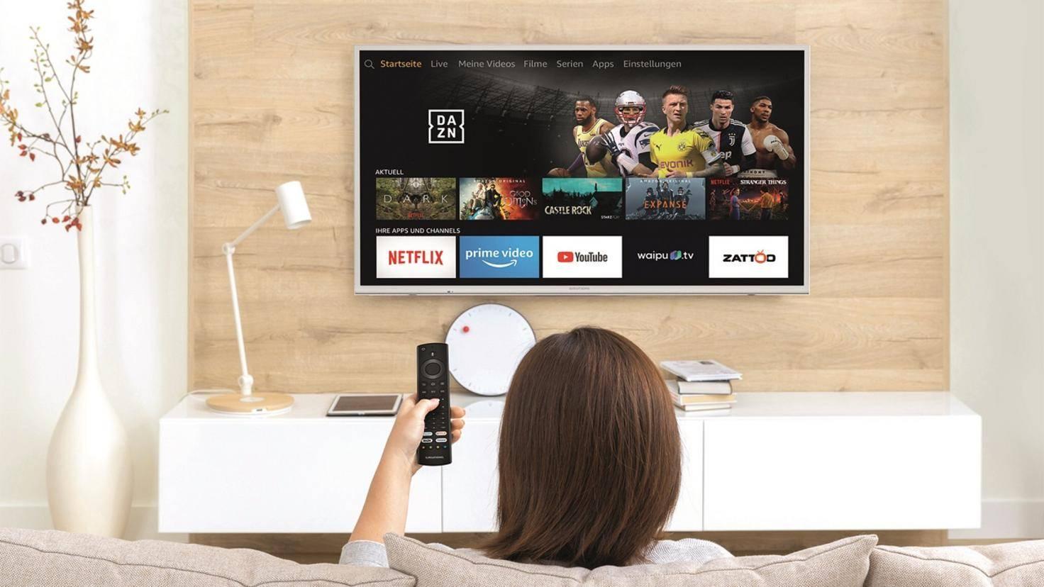 Grundig Vision 7 mit Alexa und Fire TV