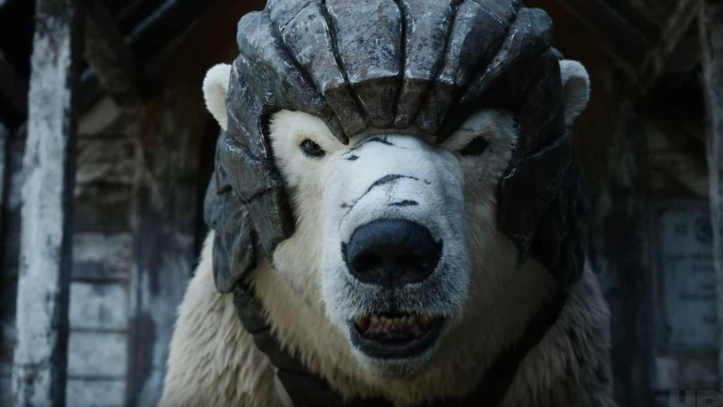 Panzerbär in His Dark Materials Staffel 1 HBO