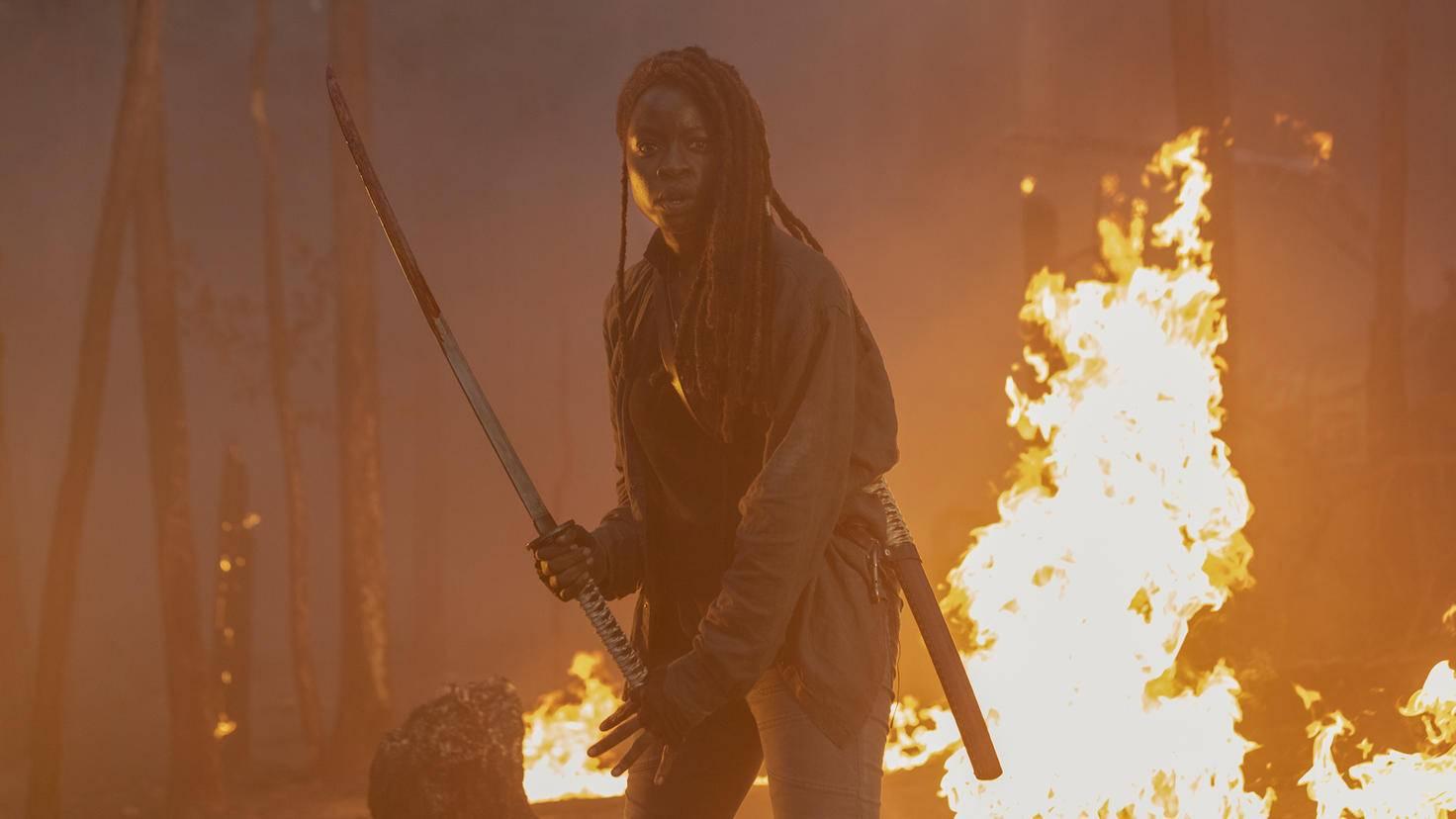 The Walking Dead-S10E01-Michonne-Jackson Lee Davis-AMC