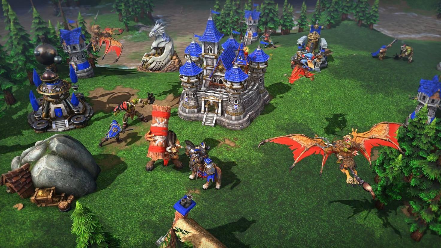 Warcraft-3-reforged-ingame-ork-vs-mensch