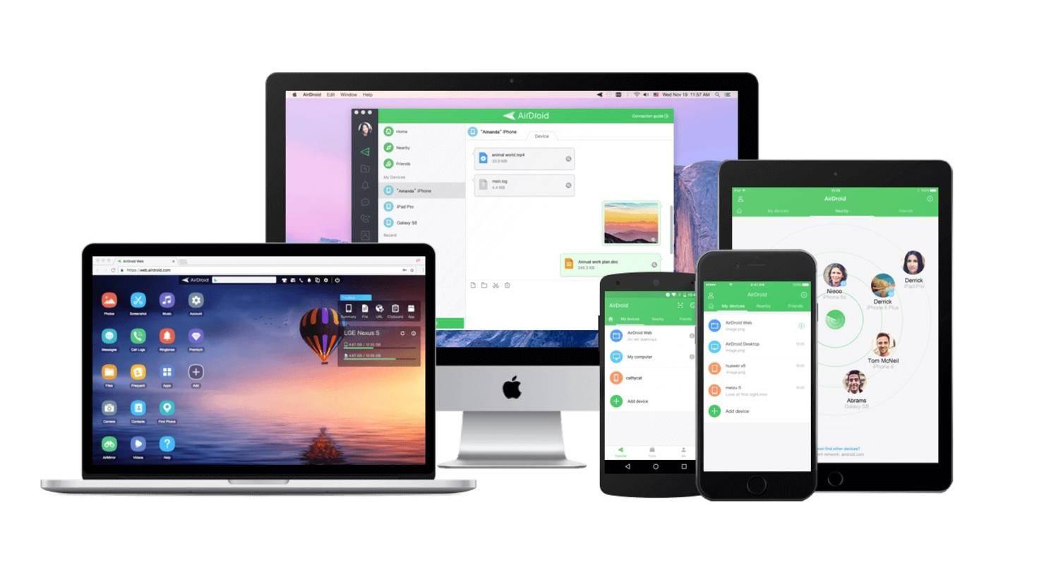 AirDroid für Android, iOS Mac und PC